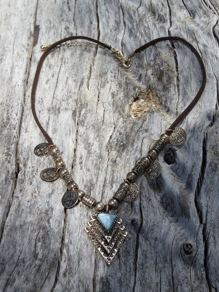 Gypsy style coin neckace