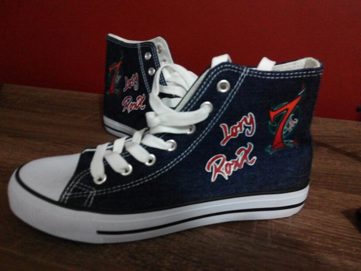 Zapatillas sneakers + papel transfer + + plancha + impresora