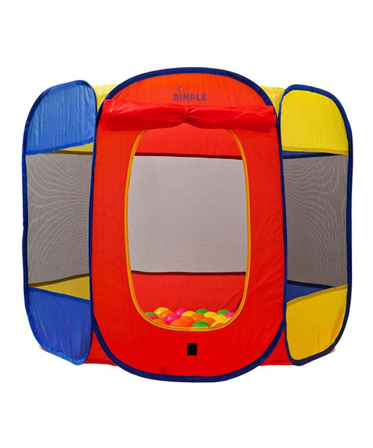 Look at this #zulilyfind! Pop-Up Play Tent & Ball Pit by Dimple #zulilyfinds