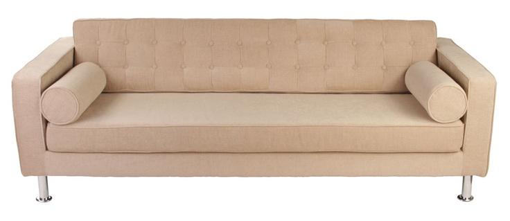 Empire 3 Seater Sofa - Matt Blatt