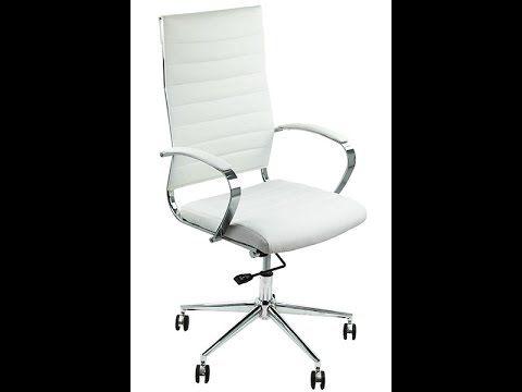 Review video scaun ergonomic off 939 alb