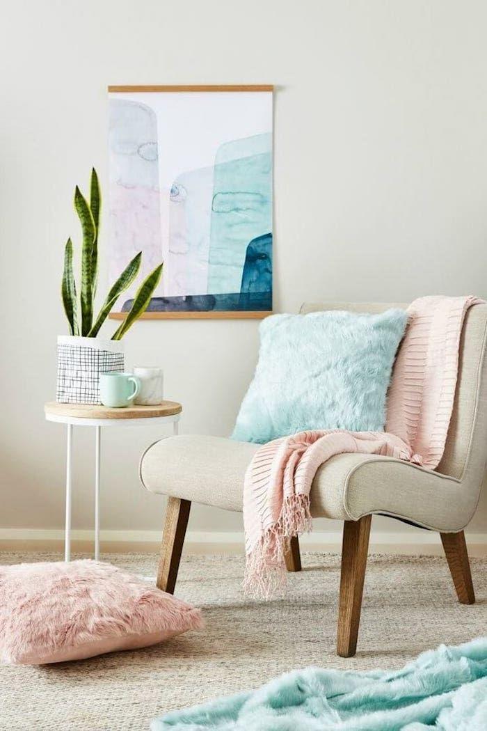 ▷ 1001 + Ideen zum Thema Welche Farben passen zusammen - moderne wandgestaltung wohnzimmer lila