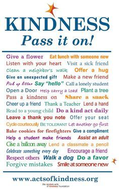 random acts of kindness | Posted in Random Acts of Kindness , Real Volunteer Stories | Leave a ...
