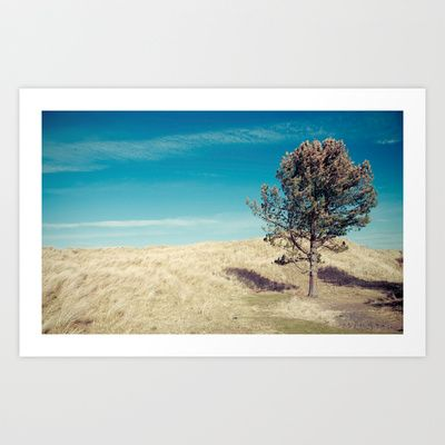 tree (it has magic lumber)... Art Print by Chernobylbob - $15.60