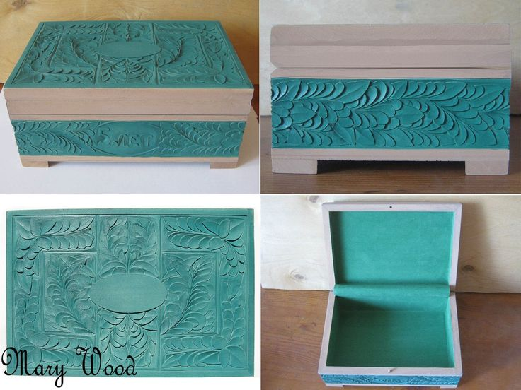 """Jewelry Box"" (special order) Made for a couple for their 5-year wedding anniversary. [1of1]"
