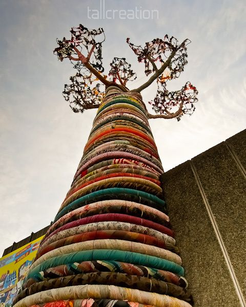 Tree Of Fabric : London's South bank