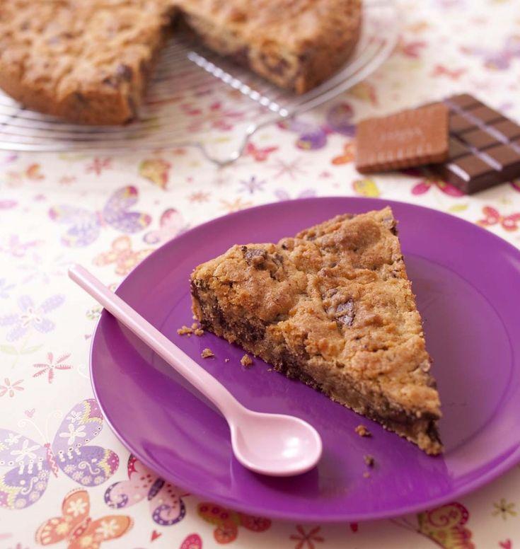 Cookie géant aux pépites de chocolat - Ôdélices : Recettes de cuisine faciles et originales !
