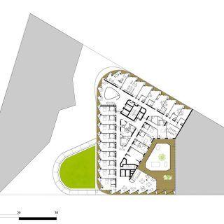 Nursing Home in Clichy-Batignolles ecodistrict / Atelier du Pont