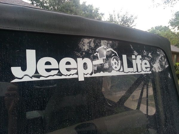 Best Stuff For My Jeep Images On Pinterest Jeep Truck Jeep - Custom windo decals for jeeps