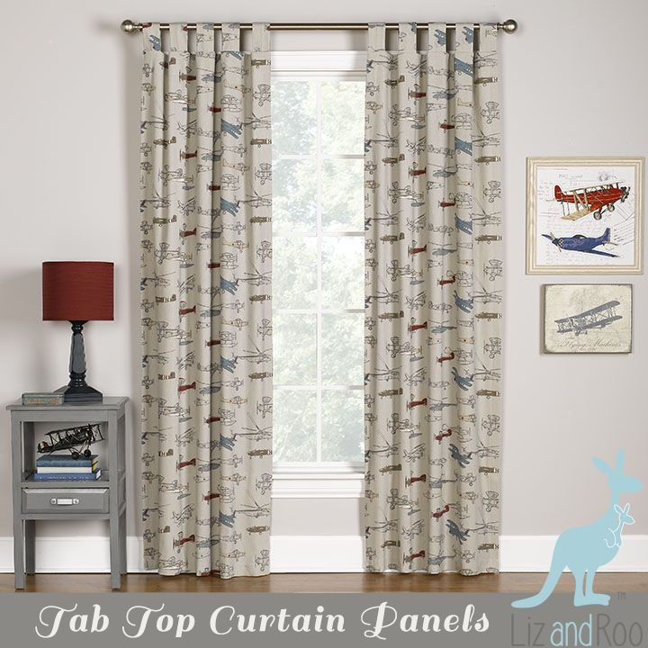Awesome Perfect For Your Airplane Nursery! Our Vintage Airplane Curtains Are Now  Also Available With Tab