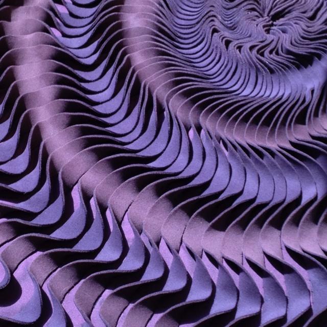 Structure of felt carpet