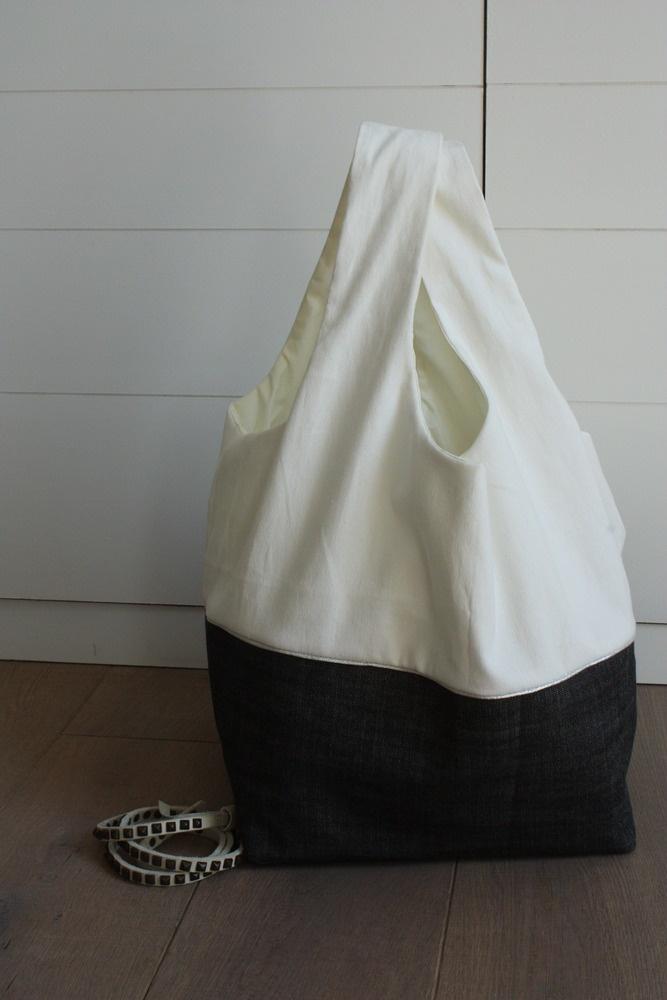 Image of sac cosi - denim noir