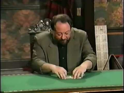 You will certainly appreciate Ricky Jay's demonstration of card control. Ricky Jay -- Card Control