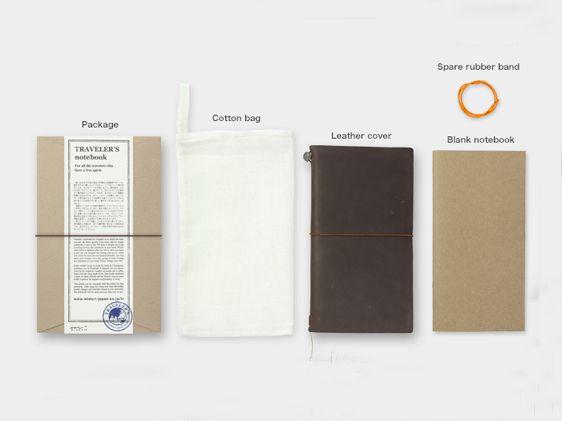 TRAVELER'S Notebook Brown - € 49,90