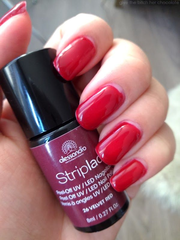 Striplac Velvet Red
