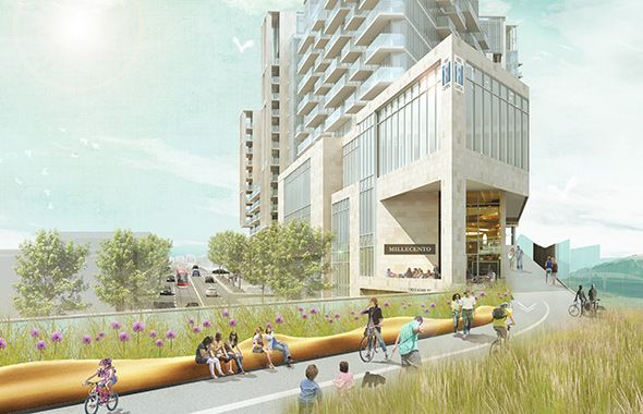 Condo developers propose King High Line