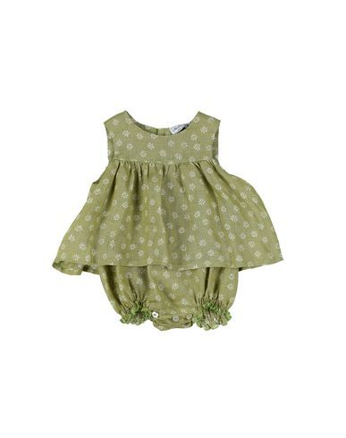 LE NOUVEAU NE' Girl's' Baby overalls Light green 1 months