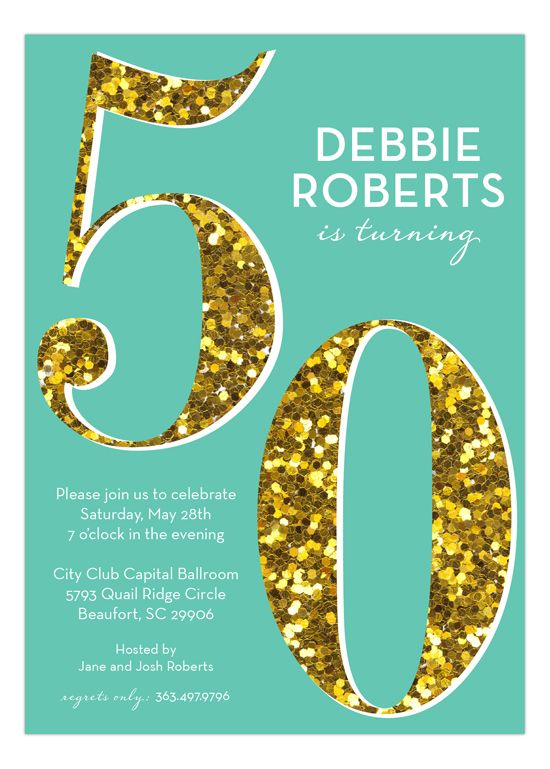 25 best Glitter Invitations images – Order Party Invitations