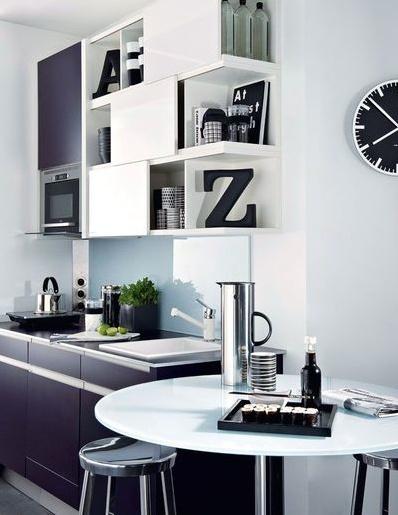 10 idées pour aménager une petite cuisine ouverte sur salon-meubles