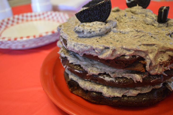 Gâteau aux biscuits Oreo