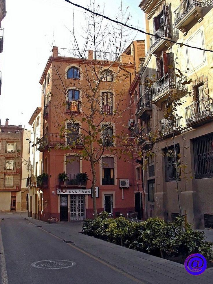 Placeta en el carrer Gonzàlez Alba.