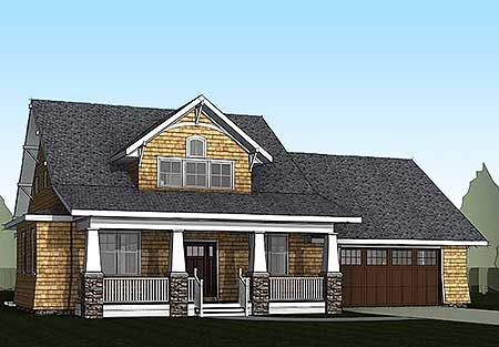 Plan 18240be storybook bungalow with bonus house plans for Storybook craftsman house plans