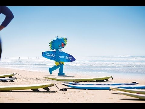 1 YEAR TO GO! Gold Coast 2018 Commonwealth Games Mascot Borobi's Queensland Bucket List - YouTube