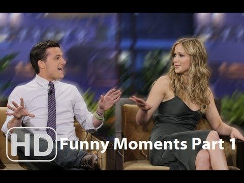 Hunger Games Cast - Funny Moments Part 1