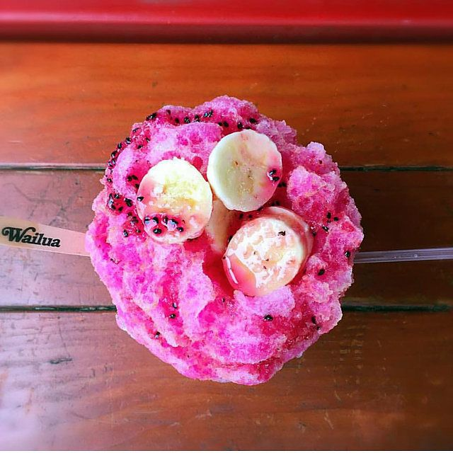 The Best Hawaiian Style Shave Ice made with Fresh Local Fruit