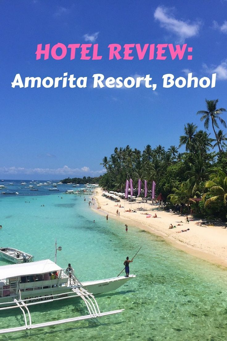 The Amorita Resort is a boutique hotel at Alona Beach in Bohol, Philippines. This luxury hotel is a great choice for a family resort in Bohol.