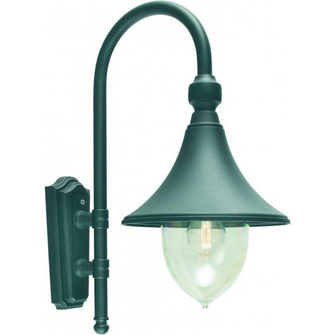 Elstead Lighting Firenze Outdoor Wall Light in Black Finish - Lighting Type from…
