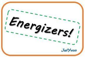 Leuke energizers om weer wat leven in de klas te brengen als tussendoortje.