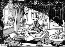 Een Heer van Stand heeft een Bibliotheek