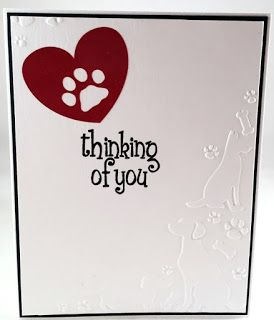 Cards By Regina: Loss of Pet Sympathy Card