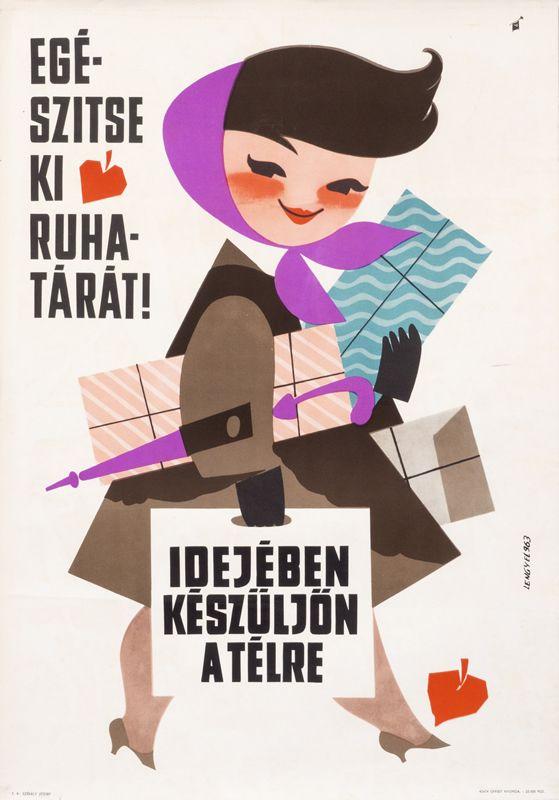 Idejeben keszuljon a telre (Complete Your Wardrobe, Prepare for Winter in Time) by Lengyel, Sandor | International Poster Gallery