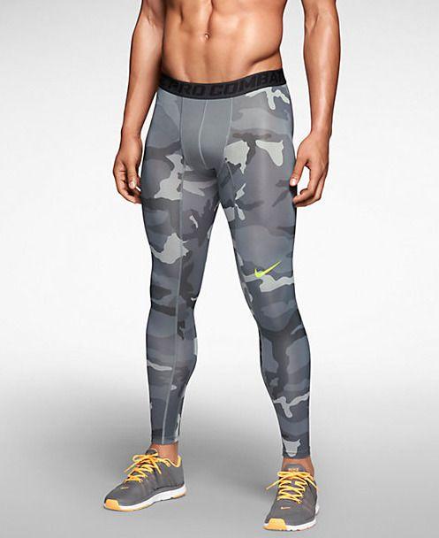 Nike Pro Combat Core Compression Camo Men's Tights. $50