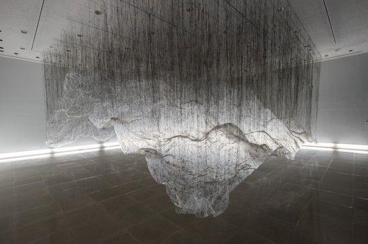 Onishi Yasuaki: Artists Onishi, Plastic Bags, Yasuaki Onishi, Negative Spaces, Volume Rg, Japan Artists, Onishi Yasuaki, Plastic Sheet, Installations Art