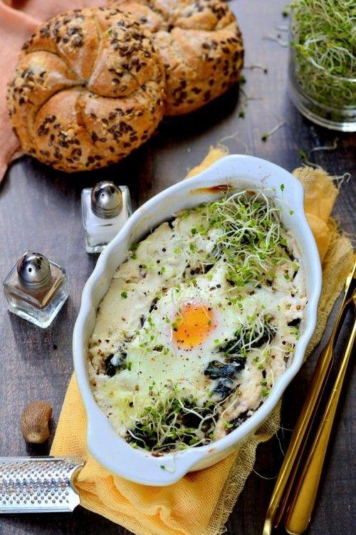 Fetás joghurtban sült tojás recept