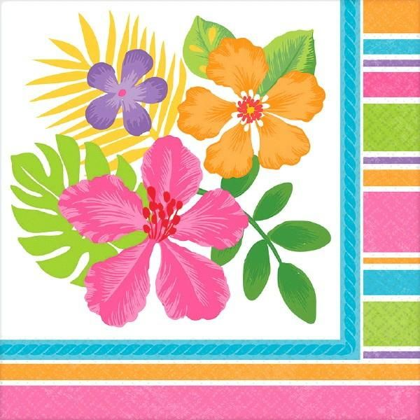 Brighten any table setting and set the stage for a great summer party or luau with these beautiful hibiscus flower themed paper tableware Coordinating ...  sc 1 st  Pinterest & 137 best Luau Party Supplies images on Pinterest | Luau party ...