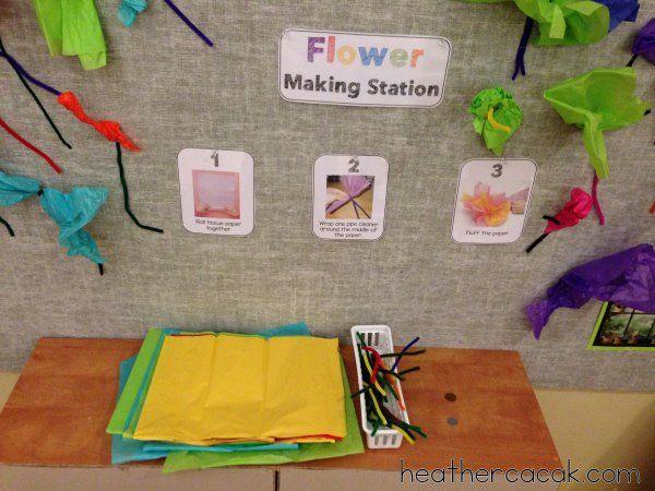 Spring Dramatic Play {FLOWER SHOP} Freebie | Heather Cacak's Pre-K & Kindergarten Teaching Resources