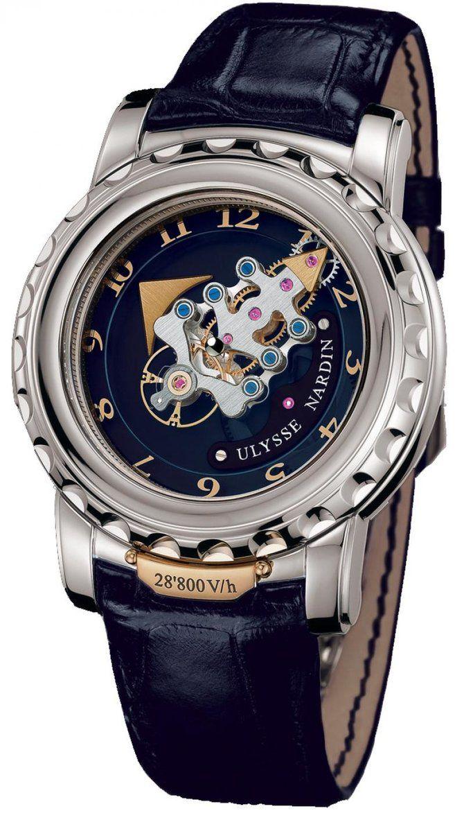 Наручные часы Ulysse Nardin Freak 28 800 V h 02088, оригинал. Купить ... 1599683ac3f