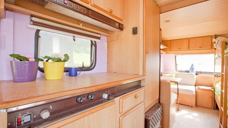 Decorar y reformar una caravana - Cocina