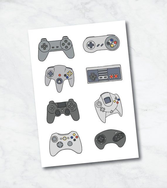 Gaming Print – Gamer Gifts | Retro Gaming Prints | Gamer Room Decor | Gift for Gamer | Retro Gamer | Gaming Art | Gaming Generations Print