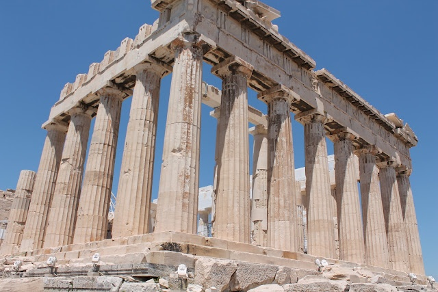 Above all of Athens: the Acropolis