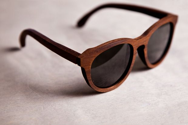 wood frame shades
