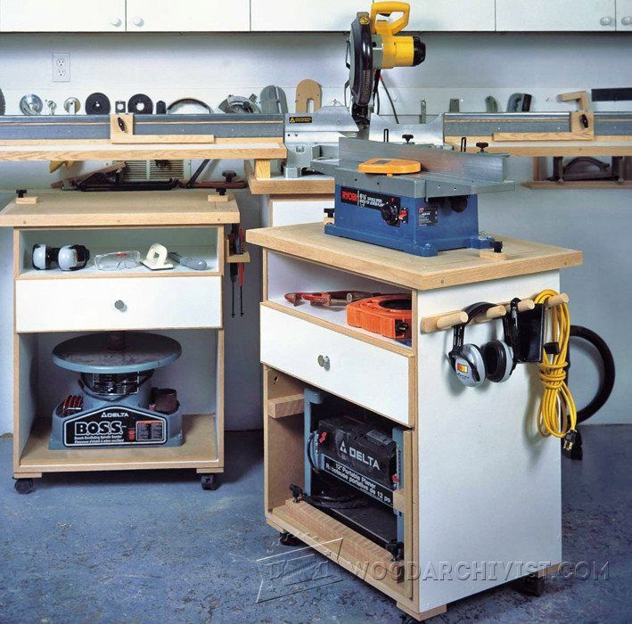 Multifunction Power Tool Cabinet Plans   Workshop Solutions Plans, Tips And  Tricks | WoodArchivist.