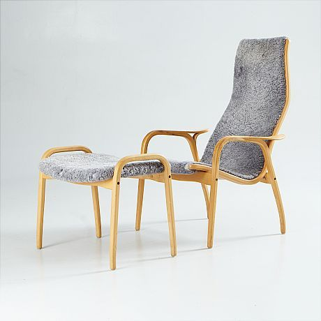 Lamino High Back Chair by Yngve Ekström for Swedese.