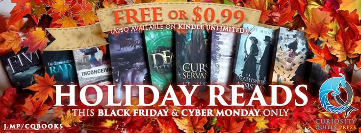 Site-wide Book Black Friday through Cyber Monday (Freebies and 99 cents titles)