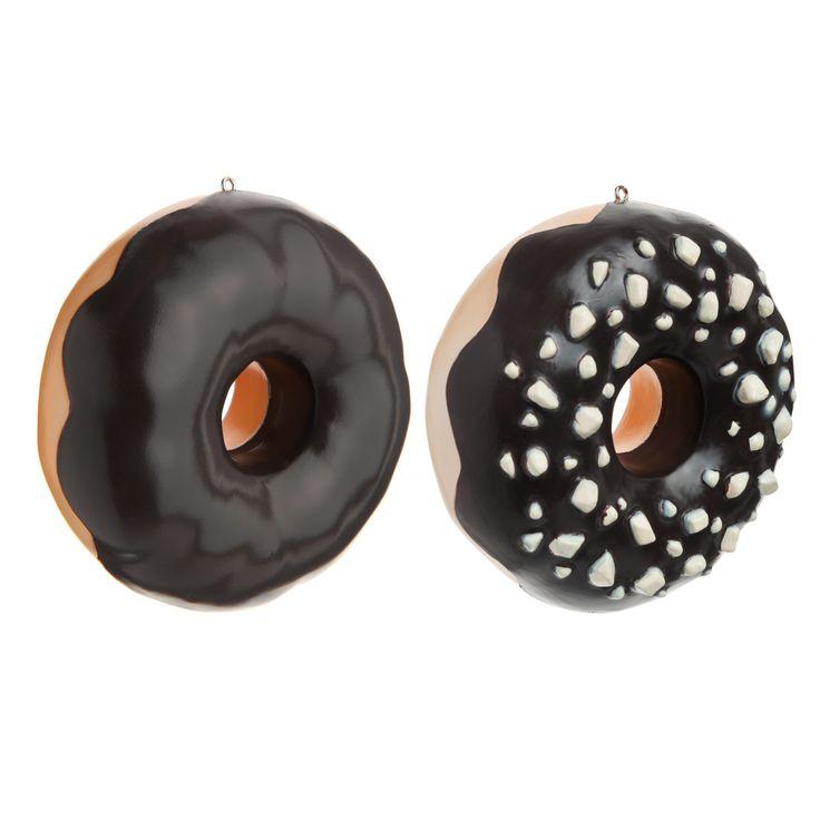 2 donut al cioccolato per albero di Natale   - Venduto x 12