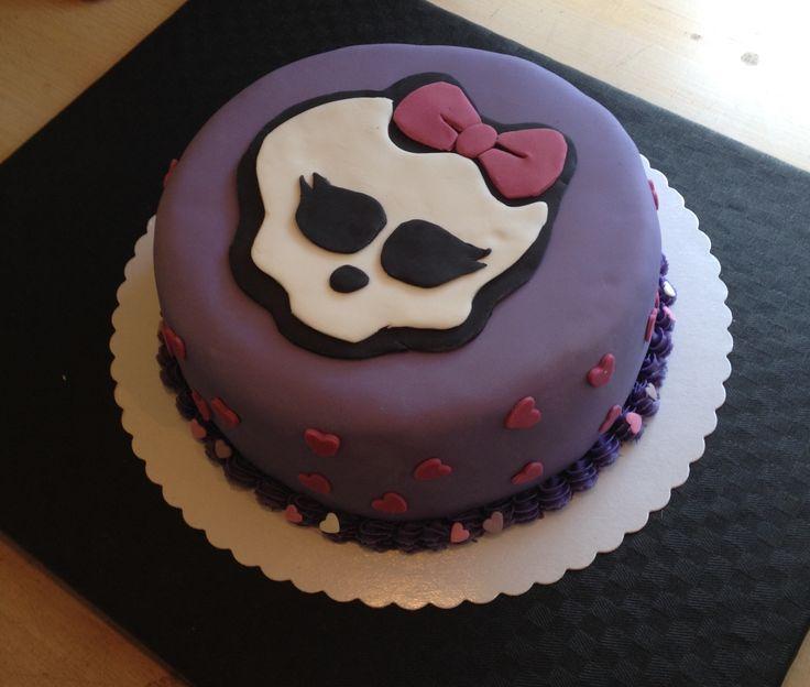 Monster High kage med hjerter.